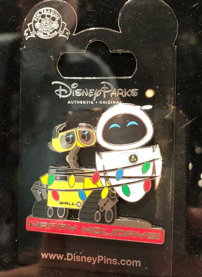 Wall-E Happy Holidays Pin