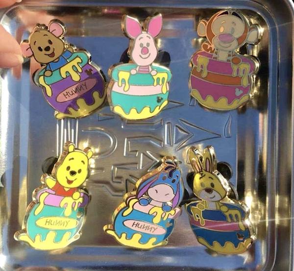 Winnie the Pooh 2018 Hidden Mickey Pins