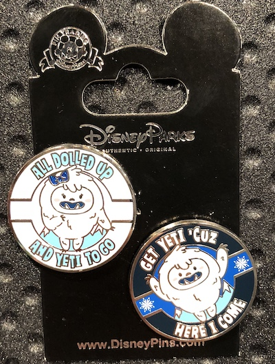 Yeti Everest Pin Set