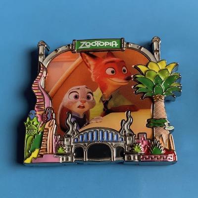Zootopia Park Pack Disney Pin