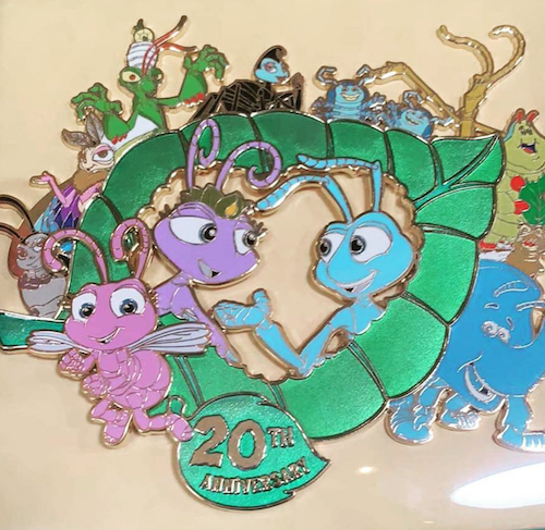 A Bug's Life 20th Anniversary Jumbo WDI Pin