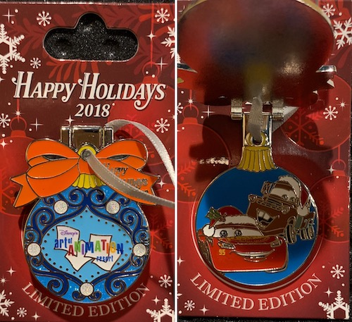 Art of Animation Resort 2018 Holiday Pin