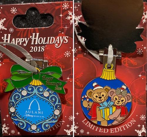 Aulani Resort 2018 Holiday Pin