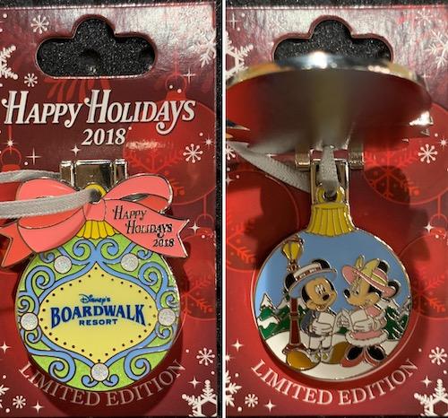 Boardwalk Resort 2018 Holiday Pin