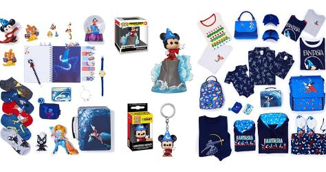 BoxLunch x Fantasia Holiday Collection Header