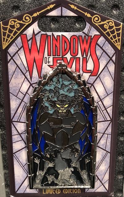 Chernabog Windows of Evil Pin