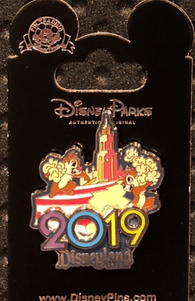Chip n Dale 2019 DLR Pin