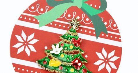Christmas Tree Disney Pin