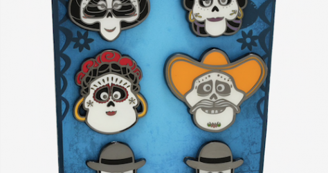 Coco Rivera Family BoxLunch Disney Pin Set