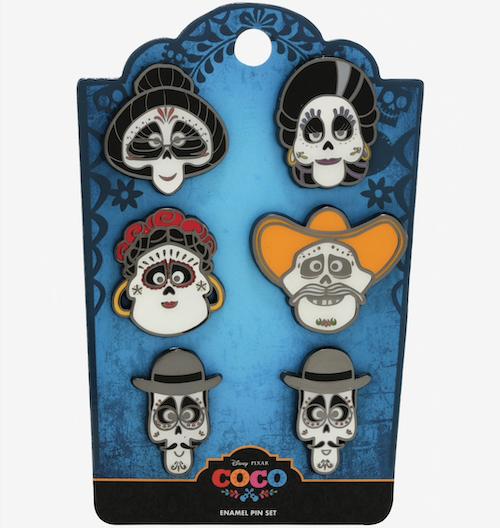 Coco Rivera Family BoxLunch Disney Pin Set