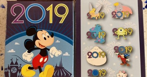Disney 2019 Mystery Pin Collection