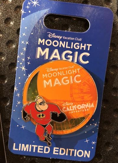 Disney California Adventure Moonlight Magic DVC 2018 Pin