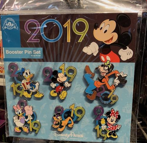 Disney Parks 2019 Booster Pin Set