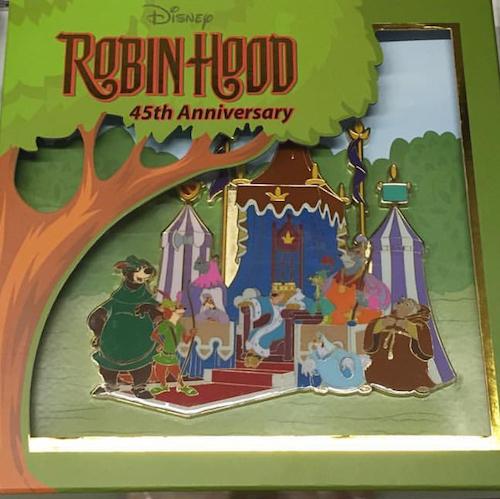 Disney Robin Hood 45th Anniversary Super Jumbo WDI Pin
