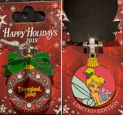 Disneyland Hotel 2018 Holiday Pin