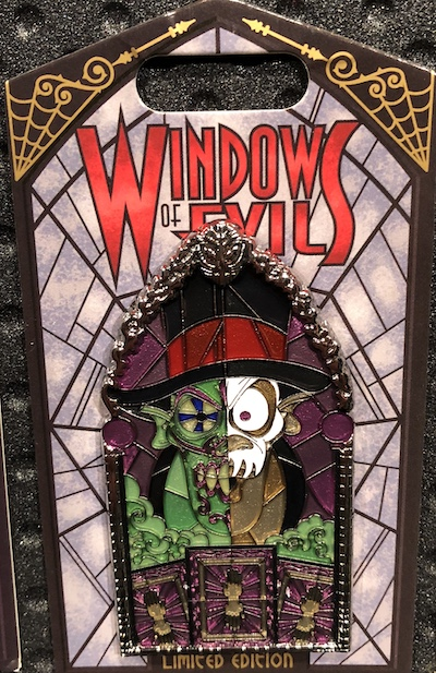 Dr. Facilier Windows of Evil Pin