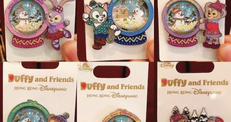 Duffy and Friends Snowman 2018 Pins
