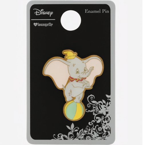 Dumbo Balancing Ball Loungefly Disney Pin