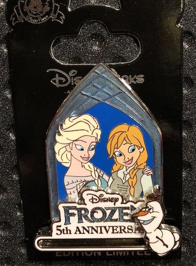 Frozen 5th Anniversary Pin