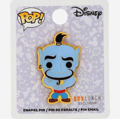 Genie Pop BoxLunch Disney Pin