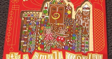 Gingerbread Jumbo - Small World Holiday 2018 Pin
