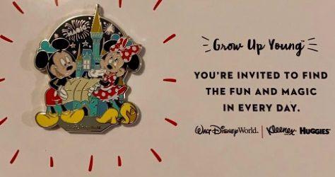 Grow Up Young Disney Pin