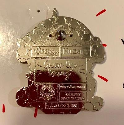 Grow Up Young Disney Pin - Kleenex & Huggies