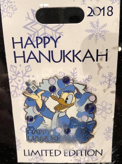 Happy Hanukkah 2018 Pin