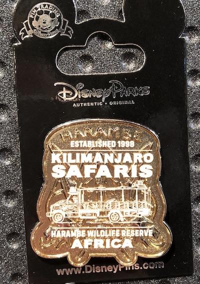 Harambe Wildlife Reserve Disney Pin