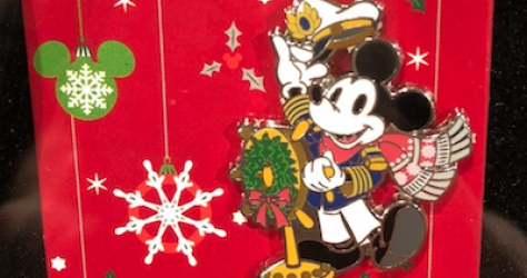 Holiday 2018 DCL Pins