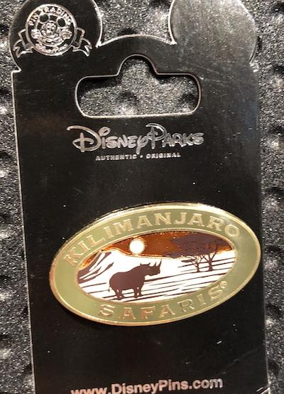 Kilimanjaro Safaris Disney Pin