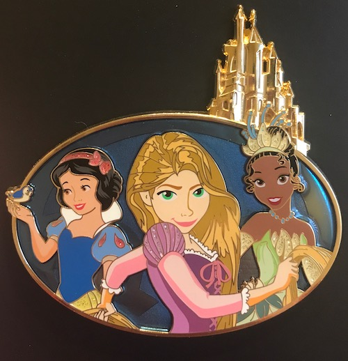 Kingdom Castle LE 300 Jumbo Disney Pin
