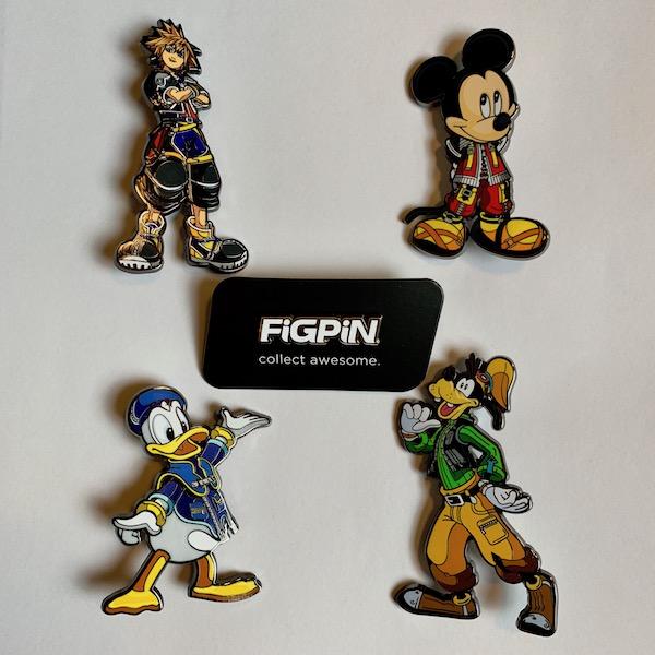 Kingdom Hearts FiGPiN Disney Pins