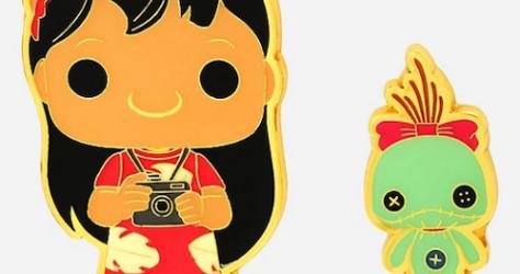 Lilo & Scrump Funko Pop! Disney BoxLunch Pin Set