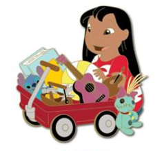 Lilo Toys for Tots 2018 Pin