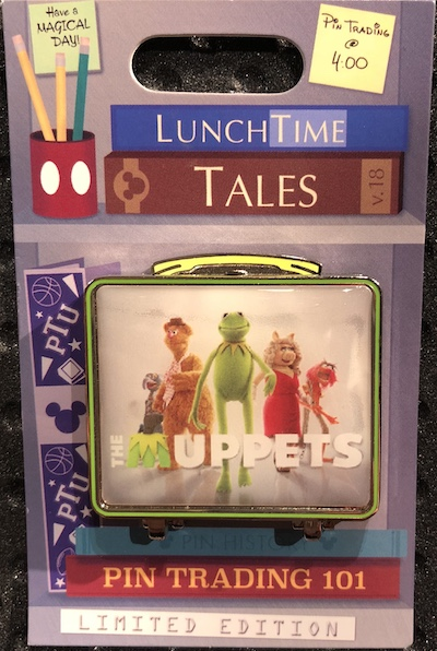 Lunch Time Tales 2018 The Muppets Pin