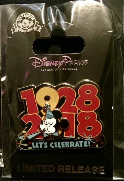 Mickey 90th Anniversary Cast Member Pin