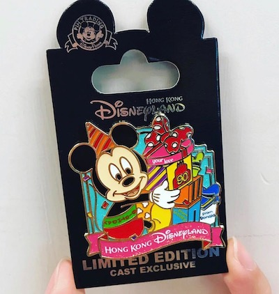Mickey 90th Gifts HKDL Cast Member Pin