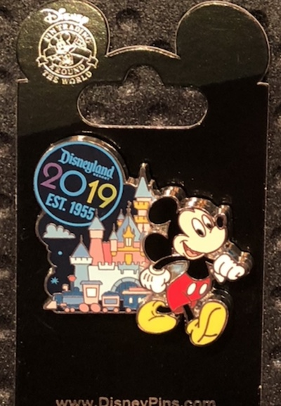 Mickey Mouse 2019 DLR Pin