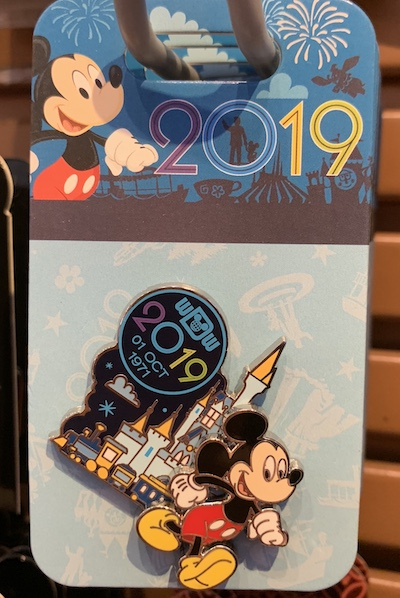 Mickey Mouse 2019 WDW Pin