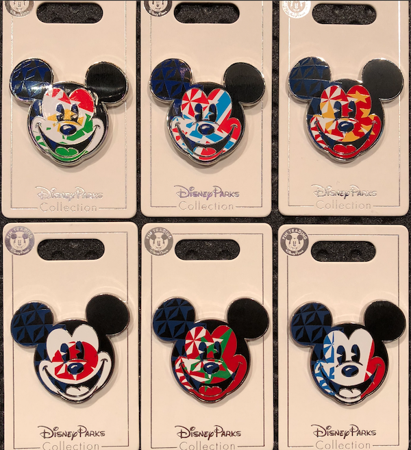 Mickey Mouse Epcot World Showcase Country Pins 2