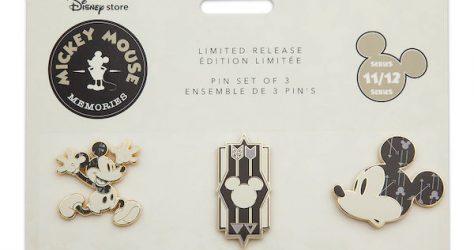 Mickey Mouse Memories Pin Set #11