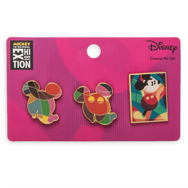 Mickey The True Original Exhibition Pin Set