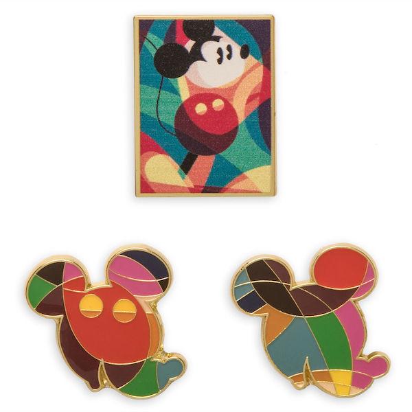 Mickey The True Original Exhibition Pins