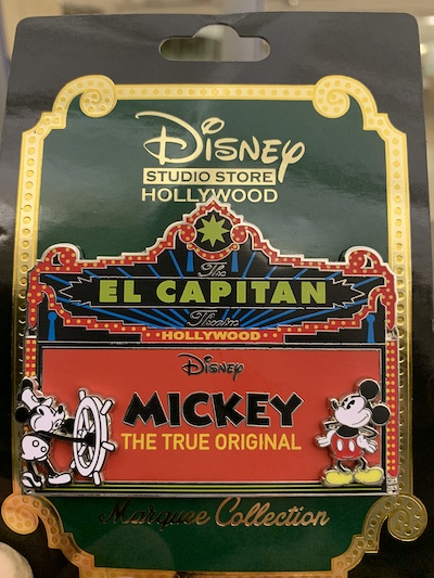 Mickey The True Original Marquee Disney Pin