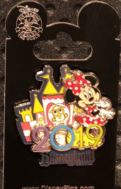 Minnie Mouse 2019 DLR Pin
