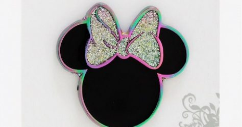 Minnie Mouse Glitter Boxlunch Disney Pin