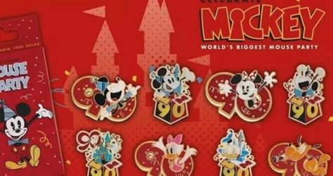 Mystery Pin Collection - Mickey 90th Shanghai Disneyland