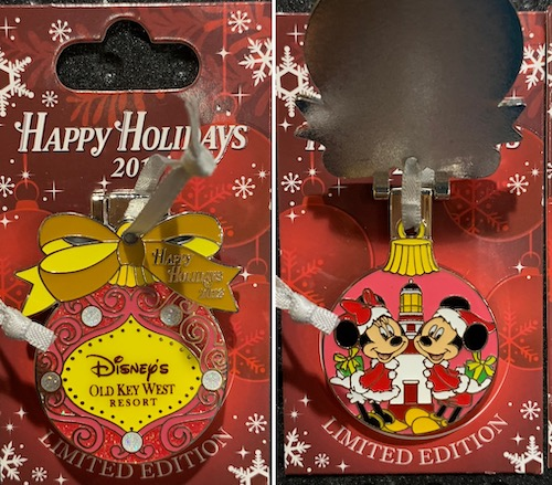 Old Key West Resort 2018 Holiday Pin