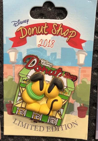 Pluto Donut Shop Pin